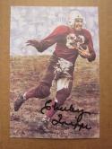 Charley Trippi Cardinals signed Goal Line Art Postcard PSA/DNA auto
