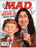 Weird Al Yankovic signed Mad Magazine June 2015 Issue #533 PSA/DNA Ficarra +