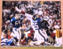 Mark Collins Football Giants signed 8x10 photo PSA/DNA inscrips Super Bowl XXV