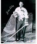 Jack Riley 1960 USA Hockey Coach signed 8x10 Photo PSA/DNA Gold Medal