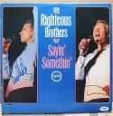 Bill Medley Righteous Brothers signed Sayin' Somethin' LP Album Cover PSA/DNA