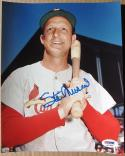 Stan Musial Signed color 8x10 Photo Cardinals PSA/DNA auto
