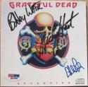 Grateful Dead 3x signed CD Cover Reckoning PSA/DNA Weir Hart Lesh