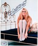 Bridget Bardot signed 8x10 photo PSA/DNA autograph