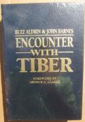 Buzz Aldrin Signed LE Leather Book Encounter with Tiber 2nd man on the moon