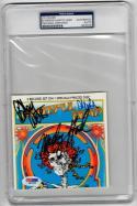 Grateful Dead 3x signed CD Cover Live Import Album PSA/DNA Weir Hart Lesh