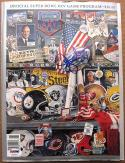 Ottis OJ Anderson Giants signed Super Bowl XXV 25 Program MVP PSA/DNA autograph