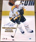 Mario Lemieux signed 16x20 Photo Penguins 2000 Return JSA COA