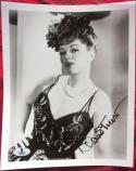 Claire Trevor signed 8x10 B&W photo BAS Beckett Authentication