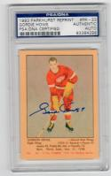 Gordie Howe signed 1993 Parkhurst 1951 Reprint Rookie Card PSA/DNA Slab