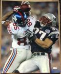 David Tyree Giants signed 16x20 The Catch Super Bowl 42 XLII photo PSA/DNA auto