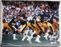 Terry Bradshaw Steelers signed 16x20 photo JSA + Steiner