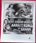 Irene Dunne Rex Harrison 2x signed 8x10 photo Anna King Siam BAS Beckett Authen
