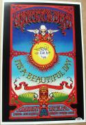 Tom Constanten signed 12x18 Replica 1969 Grateful Dead Concert Poster PSA/DNA