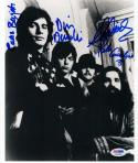 Young Rascals 4x signed 8x10 photo PSA/DNA Cavaliere Brigati Danelli Cornish