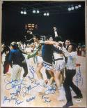 1972 Team USA Basketball 13x Team signed 16x20 Photo PSA/DNA Olympics