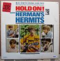 Peter Noone Herman's Hermits signed Hold On LP Album Cover PSA/DNA