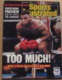 Mike Tyson signed Sports Illustrated Magazine 2/1/88 PSA/DNA auto