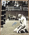 Y.A. YA Tittle NY Giants Agony of Defeat signed 16x20 photo STEINER autographed