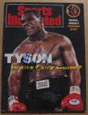 Mike Tyson signed Sports Illustrated Magazine 6/24/91 PSA/DNA auto