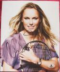 Caroline Wozniacki Tennis Superstar signed 8x10 photo Beckett BAS Authentic