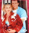 Christian Slater Patricia Arquette signed 8x10 photo True Romance Beckett BAS