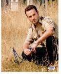 Andrew Lincoln Walking Dead signed 8x10 photo PSA/DNA autograph