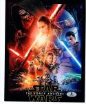 JJ Abrams Star Wars Force Awakens signed 8x10 photo BAS Beckett Authentic auto