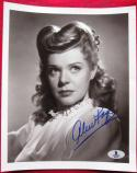 Alice Faye Actress signed 8x10 photo BAS Beckett Authentic auto