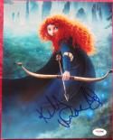 Kelly MacDonald signed 8x10 photo Voice of Merida Disney Brave PSA/DNA auto