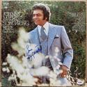 Johnny Mathis signed LP Album Cover Song Sung Blue PSA/DNA autographed