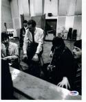George Martin Beatles Producer signed 8x10 photo PSA/DNA autograph
