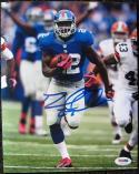 David Wilson Giants signed 8x10 photo Breakaway Run PSA/DNA In the Presence ITP