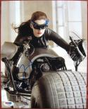 Anne Hathaway signed 8x10 photo Batman Catwoman PSA/DNA autograph