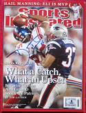 David Tyree SB XLII Catch signed 2/11/08 SI Sports Illustrated Beckett BAS