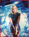 Alice Eve signed 8x10 photo Star Trek Carol Marcus Beckett BAS Authentic auto