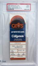 Michael Jordan Bulls 69 Point Game Ticket Stub 3/28/90 RARE PSA Slabbed
