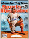 Yogi Berra Yankees signed 7/4-7/11/11 Sports Illustrated SI Magazine PSA/DNA