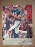 Bob Griese Dolphins football signed 8.5x11 Magazine photo PSA/DNA auto