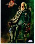 Donald Sutherland signed 8x10 photo Hunger Games Pres Coriolanus Snow PSA/DNA