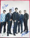 Entourage Cast 5x signed 11X14 photo Piven Connolly Grenier BAS Beckett