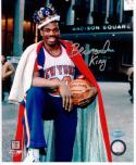 Bernard King Knicks signed 8x10 photo STEINER COA autographed