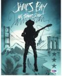 James Bay signed 8x10 photo PSA/DNA autograph