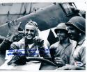 Alex Vraciu World War II Flying Ace signed 8x10 photo PSA/DNA Turkey Shoot