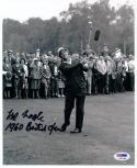 Kel Nagle 1960 British Open Champion signed 8x10 Golf photo PSA/DNA auto