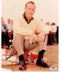 Arnold Palmer signed 8x10 Golf Legend photo PSA/DNA auto