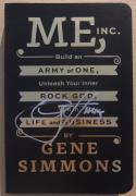 Gene Simmons KISS signed Book Me, Inc. Signed on Cover! 1st Printing BAS Beckett COA