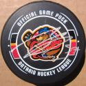 Connor McDavid signed Erie Otters Hockey Puck PSA/DNA Rookiegraph autographed
