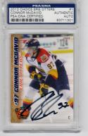 Connor McDavid signed 2012 Choice Rookie Card PSA/DNA Slab Erie Otters NHL